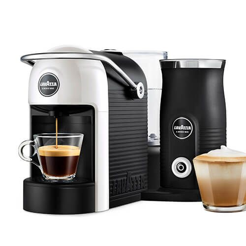 Lavazza Jolie & Milk White Coffee Machine