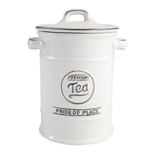 T&G Pride Of Place Tea Jar White