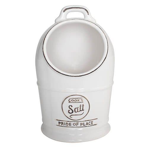 T&G Pride Of Place Salt Jar White