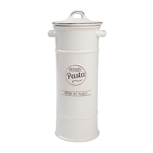 T&G Pride Of Place Pasta Jar White