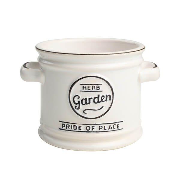 T&G Pride Of Place Plant Pot White