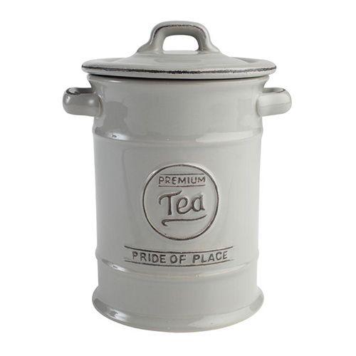 T&G Pride Of Place Tea Jar Cool Grey