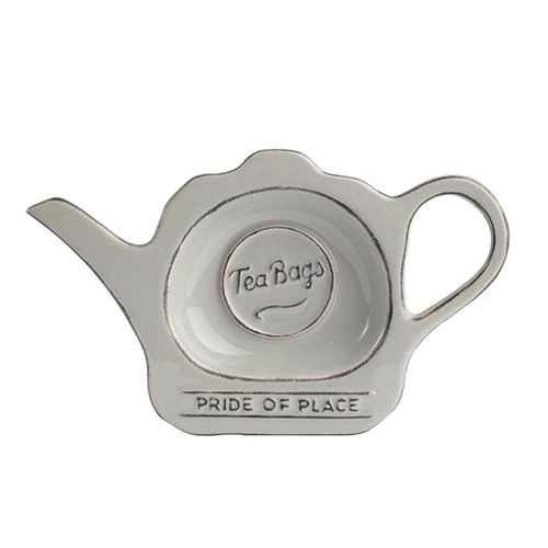 T&G Pride Of Place Tea Bag Tidy Cool Grey