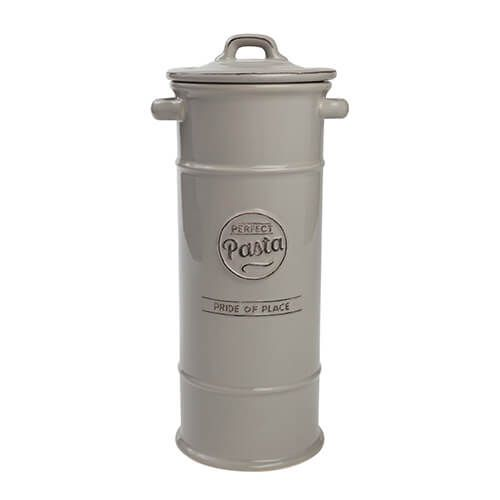 T&G Pride Of Place Pasta Jar Cool Grey
