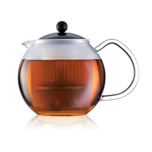 Bodum Assam Tea Press With Glass Handle 0.5 Litre Black