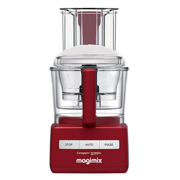 Magimix Compact 3200XL Red BlenderMix Food Processor