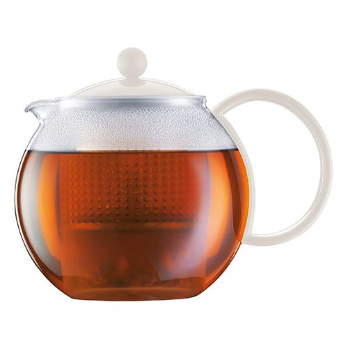 Bodum Assam Tea Press 1.0 Litre Off White