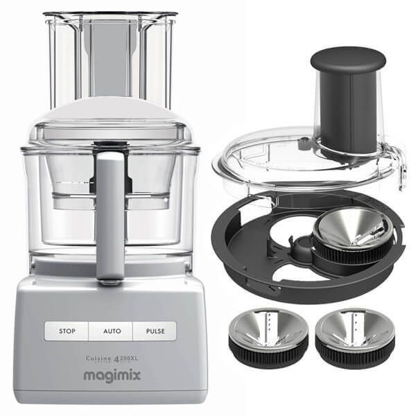 Magimix 4200XL White BlenderMix Food Processor with FREE Gift