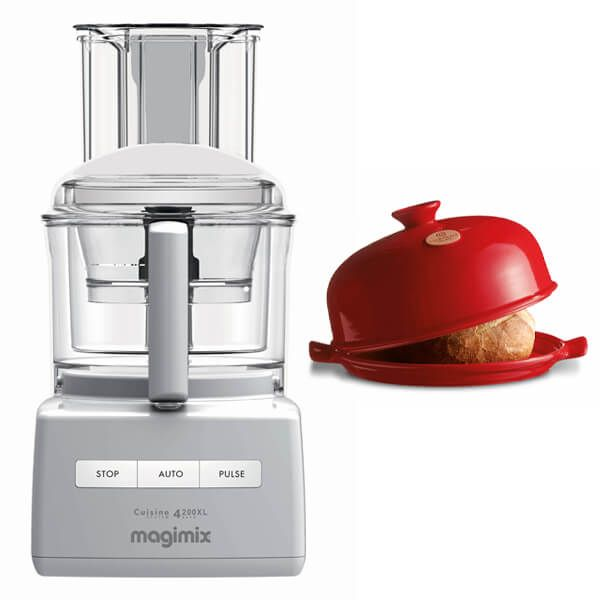 Magimix 4200XL White Food Processor with FREE Gift