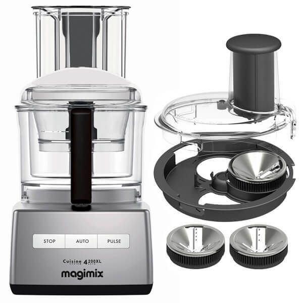 Magimix 4200XL Satin BlenderMix Food Processor with FREE Gift