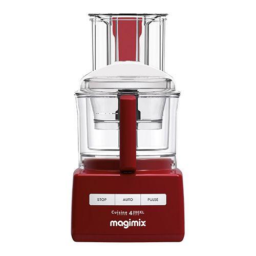 Magimix 4200XL Red Food Processor