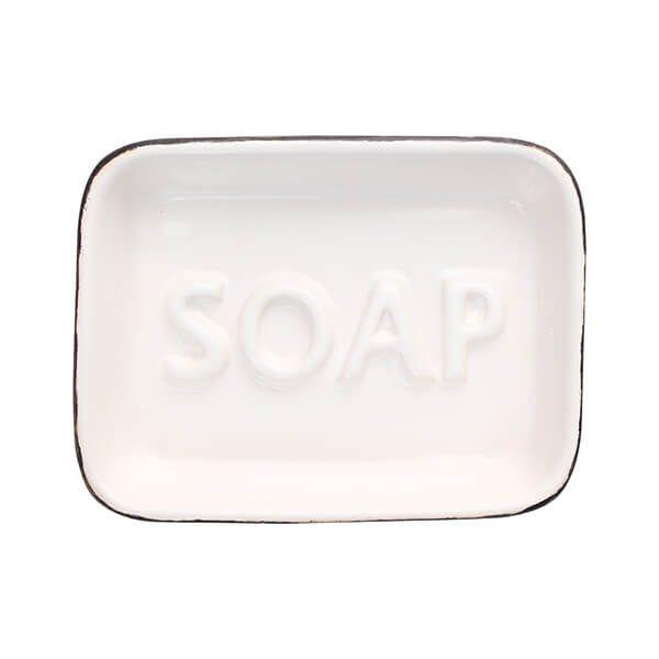 T&G Ocean Soap Dish White