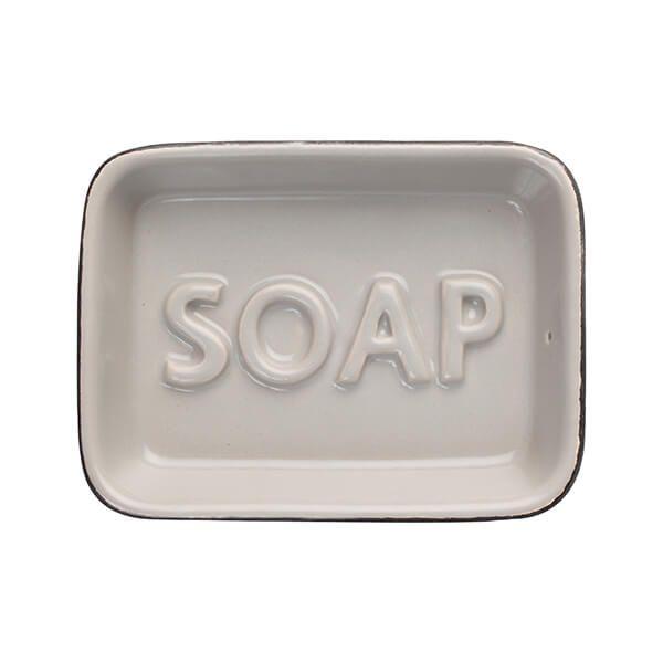 T&G Ocean Soap Dish Grey