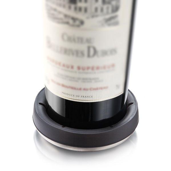 Vacu Vin Bottle Coaster Stainless Steel
