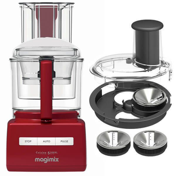 Magimix 5200XL Red BlenderMix Food Processor with FREE Gift