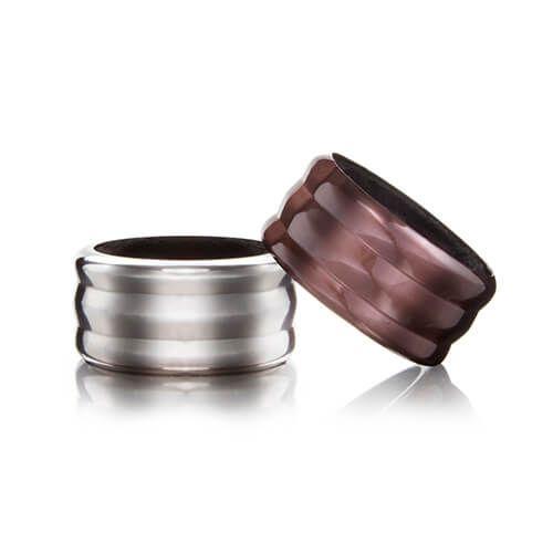 Vacu Vin Wine Collar Set Of 2