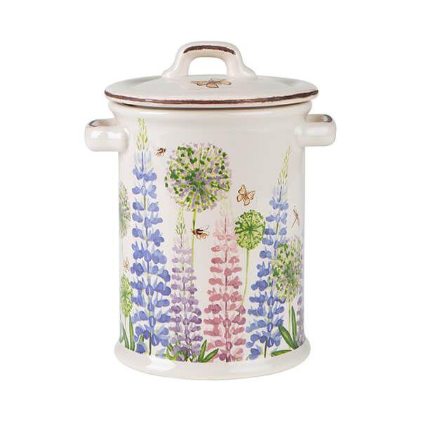 T&G Cottage Garden Butterfly Storage Jar