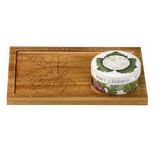 Clare Mackie Cheese Board Camembert Baker Acacia Platter