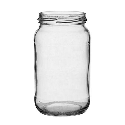 Set Of Six 1lb Jam / Preserve Jar & Lids