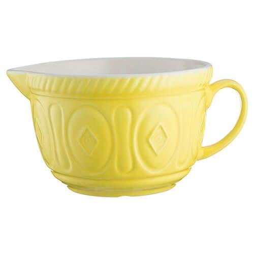 Mason Cash Colour Mix Bright Yellow Batter Bowl