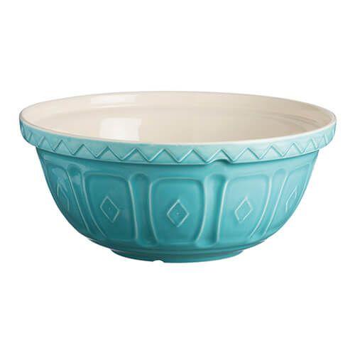 Mason Cash Colour Mix S18 Turquoise Mixing Bowl 26cm