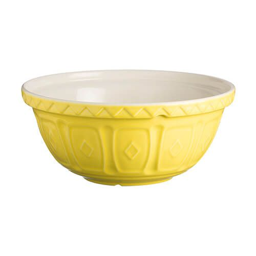 Mason Cash Colour Mix S24 Bright Yellow Mixing Bowl 24cm