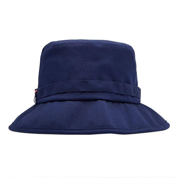 Joules Coast French Navy Fabric Rain Hat