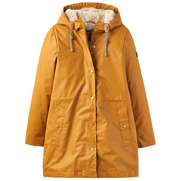 Joules Rainaway Mustard Raincoat