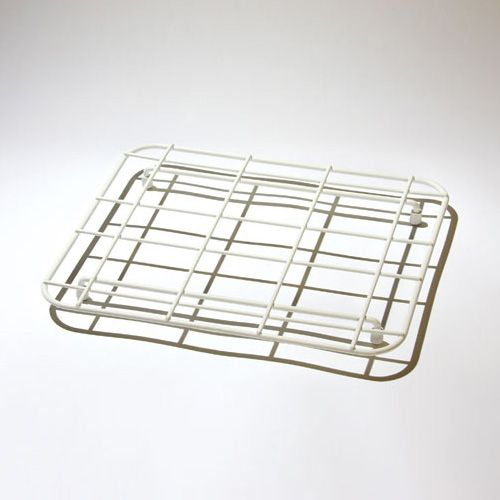 Delfinware Wireware White Small Sink Mat