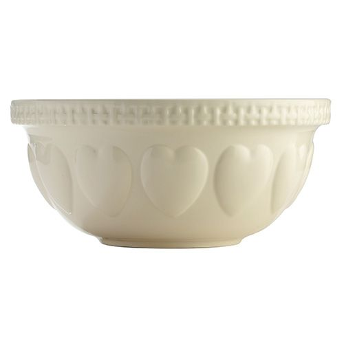 Mason Cash Hearts Cream S12 Mixing Bowl 29cm