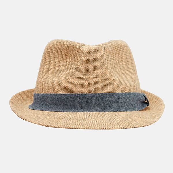 Joules Halstow Hessian Sun Hat