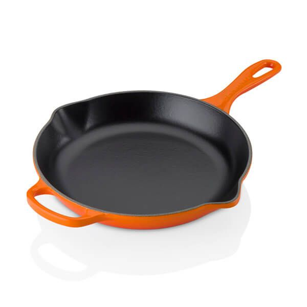 Le Creuset Signature Volcanic Cast Iron 26cm Frying Pan With Metal Handle