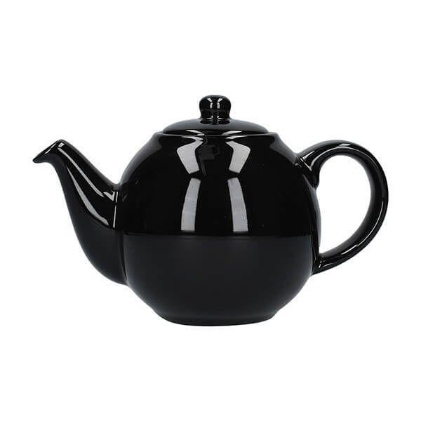 London Pottery Globe 2 Cup Teapot Gloss Black