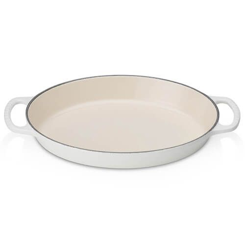 Le Creuset Signature Cotton Cast Iron 28cm Oval Gratin Dish