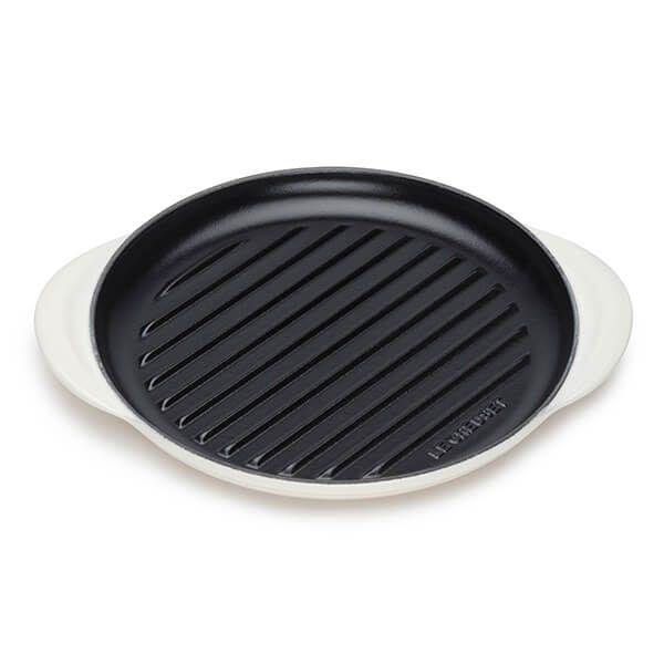 Le Creuset Meringue Cast Iron 25cm Round Grill