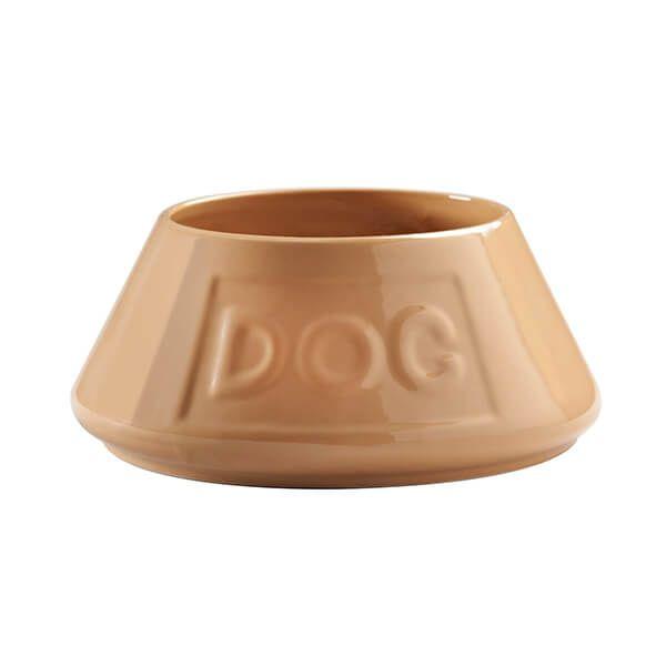 Mason Cash Cane Non Tip Lettered Dog Bowl 21cm