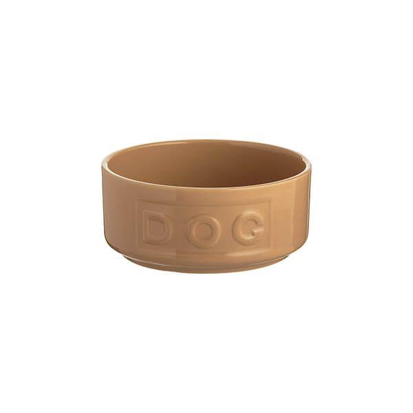 Mason Cash Cane Lettered Dog Bowl 13cm
