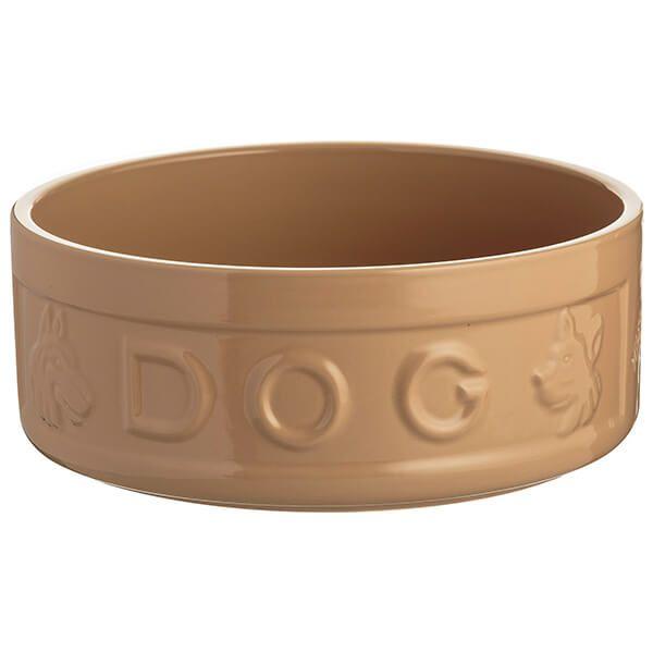 Mason Cash Cane Lettered Dog Bowl 25cm