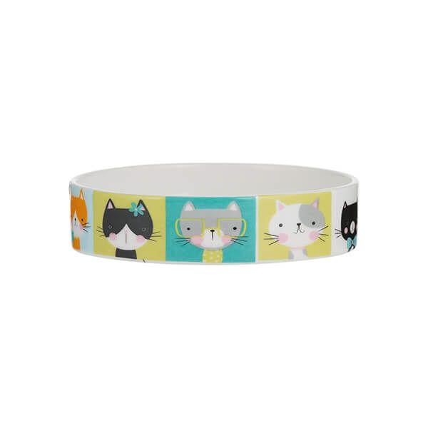 Mason Cash Pawtrait Cat Bowl 13 x 3cm