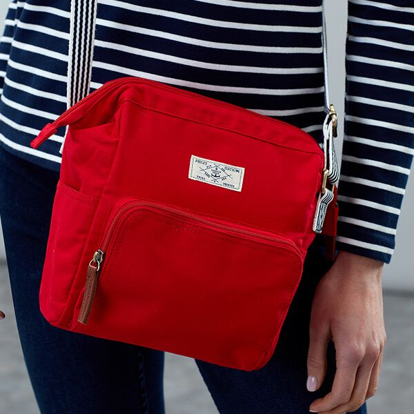 Joules Red Coast Cross Body Bag