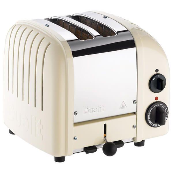 Dualit Classic Vario AWS Canvas White 2 Slot Toaster