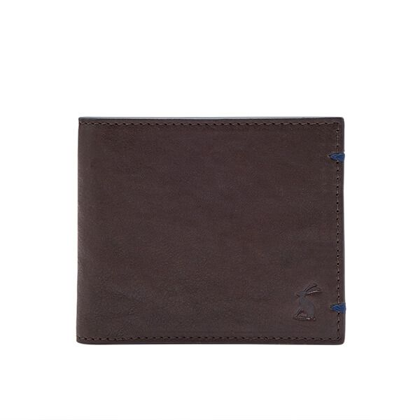 Joules Tillman Brown Multi Stripe Leather Wallet