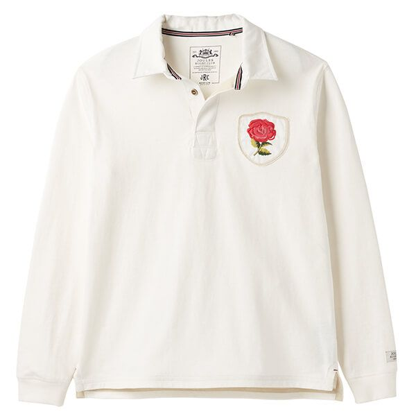 Joules Glory Antique Creme England Rugby Shirt