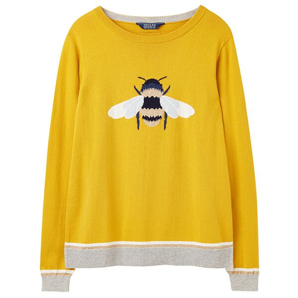 Joules Queen Bee Miranda Crew Neck