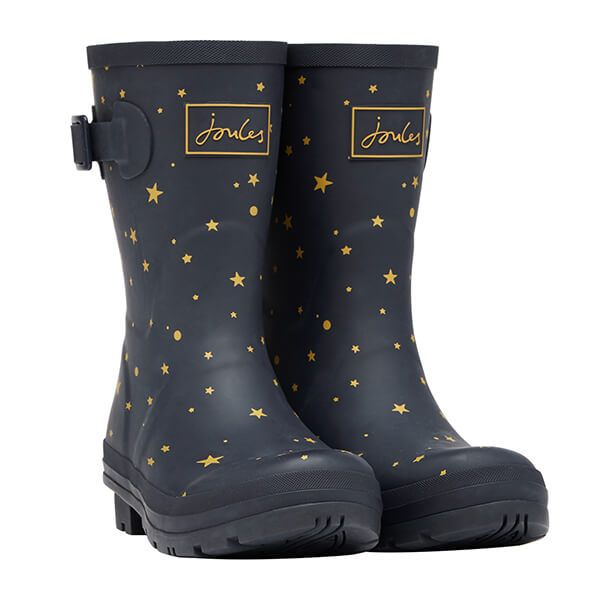 Joules Star Gaze Mid Height Molly Wellies Size