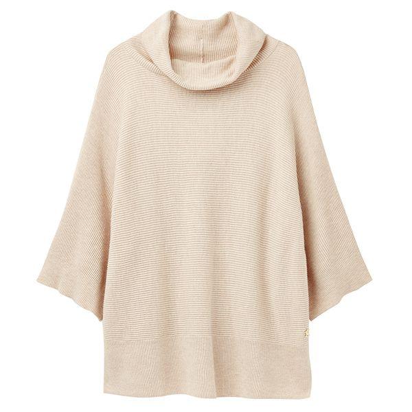 Joules Vanna Kimono Sleeve Horizontal Rib Jumper