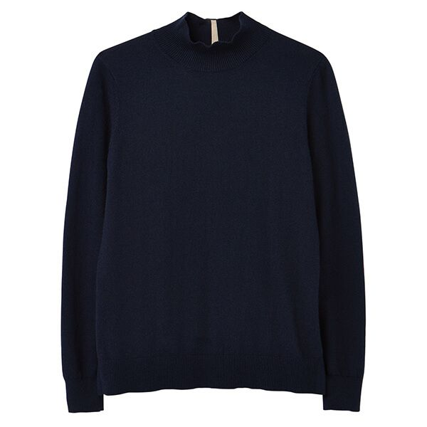 Joules French Navy Orianna Basic Roll Neck Jumper