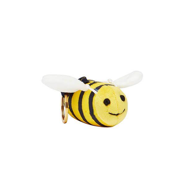 Joules Bee Charmwell Velvet Keyring