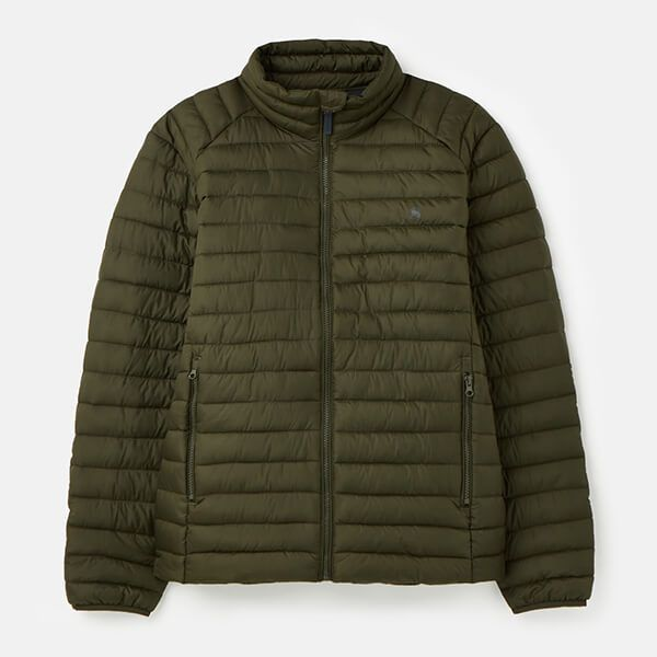 Joules Olive Go To Padded Jacket