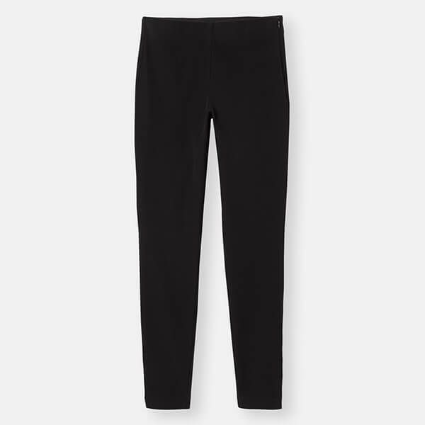 Joules Black Hepworth Pull on Stretch Trousers Size 18